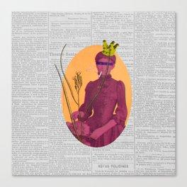 Orgasmo (Orgasm) Canvas Print