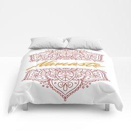 Namaste | Lotus Flower Yoga Yoga Jogi Meditation Comforters