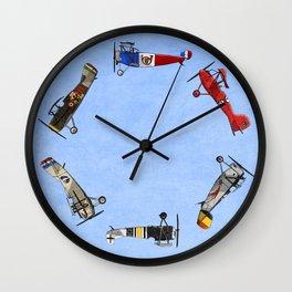 Warriors of the Sky Wall Clock