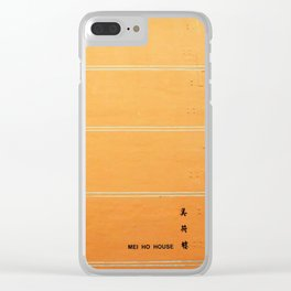 Mei Ho House Clear iPhone Case