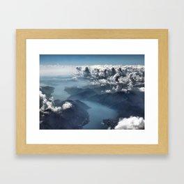Cloud's Illusions Framed Art Print