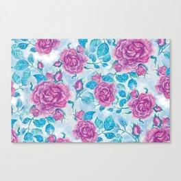 Evening Rose Canvas Print