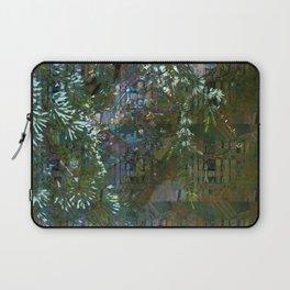 Grunge Forest Plaid Laptop Sleeve