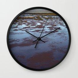Low Tide at Southport - UK Wall Clock