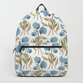 Midnight Tulips Backpack