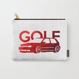 Volkswagen Golf Mk4 - classic red - Carry-All Pouch
