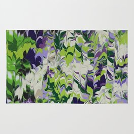 Nature Orchid Garden Rug