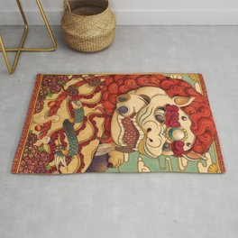 Chinese Lion Rug