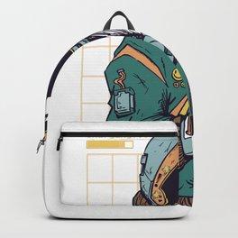 Cyberpunk Astronaut Backpack