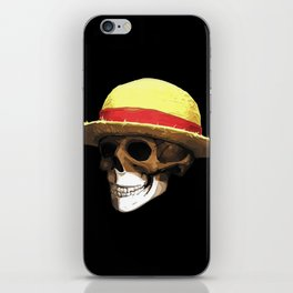 Straw Hat Zombie iPhone Skin