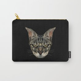 Angry Cyborg Cat  Carry-All Pouch