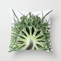fractal Throw Pillows featuring Fractal by A Wandering Soul