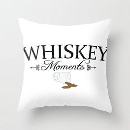 Whiskeymoments Throw Pillow