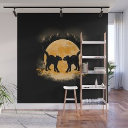 Black Cats Paradise Wall Mural