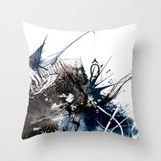 O Chaos Throw Pillow