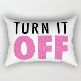 Book of Mormon - Turn it off Rectangular Pillow