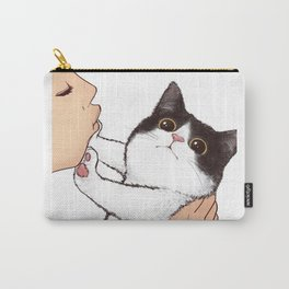 Don't kiss! Carry-All Pouch