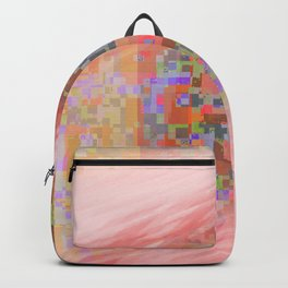 pink trails 2 Backpack