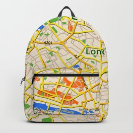 London Map design Backpack