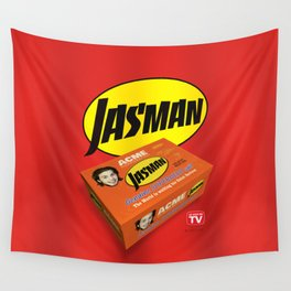 Jasman Superhero Suit Box - TV Wall Tapestry