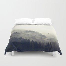 Forest Moon Duvet Cover