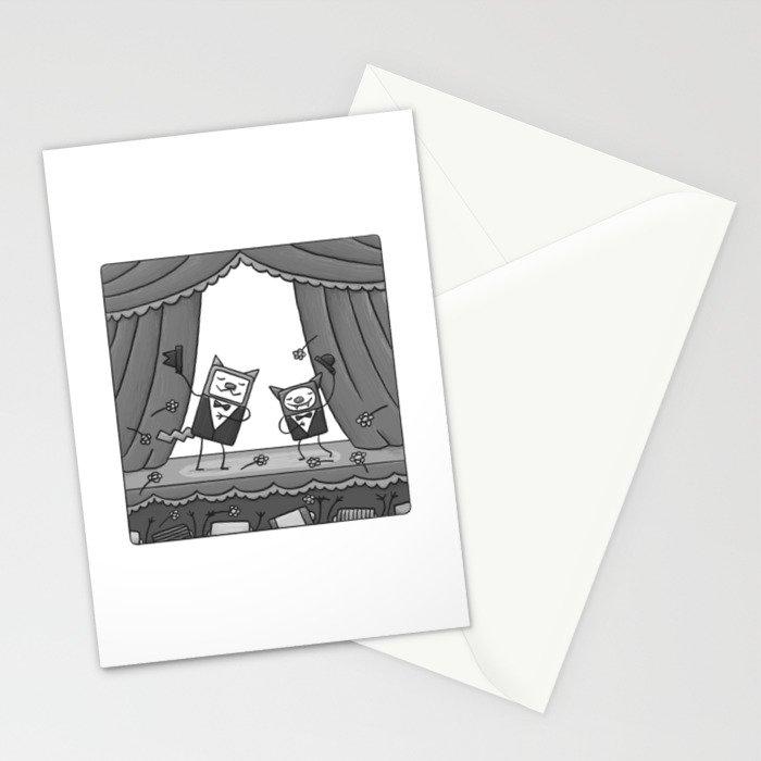BRAVISSIMO CAT'N'BAT Stationery Cards
