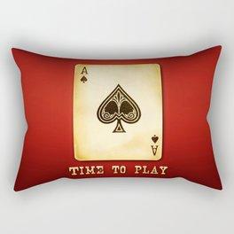 As Spade Logo Rectangular Pillow