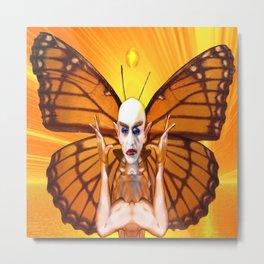 Metamorphosis of Nosferatu Metal Print