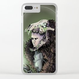 The Dread Wolf Solas Clear iPhone Case