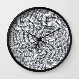 TWISTS AND TURNS! Wall Clock