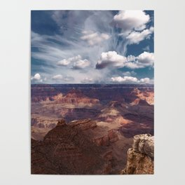 The Storm on the North Rim Poster