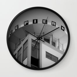 Clarence Pier Vintage Style Wall Clock