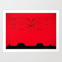 High Noon on Arrakis Art Print