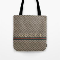 gucci Tote Bags featuring Gucci Class by Goldflakes