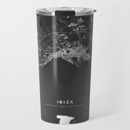 Ibiza City Map  Travel Mug