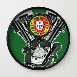 Pure Portuguese Evol. Wall Clock