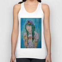 grimes Tank Tops featuring Grimes by Jenn