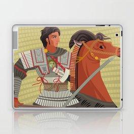alexander the great mosaic riding a horse Laptop & iPad Skin