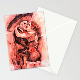 """Un Ultimo Baile """"Red-Dead"""" version Stationery Cards"""