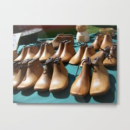 Shoe molds Metal Print