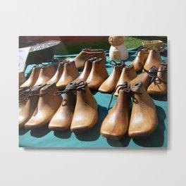 Shoe molds Metal Print