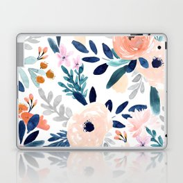 Jolene Floral Laptop & iPad Skin