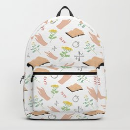 Magical symbols and herbs Backpack