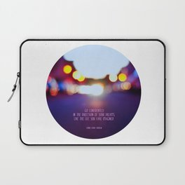 Live your dreams Laptop Sleeve