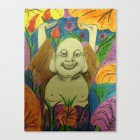 buddah Canvas Prints featuring Wedding Buddah by Manuel Estrela 113 Art Miami