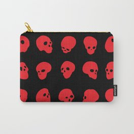 redhead - red on black Carry-All Pouch