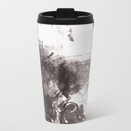 Drawing Restraint Metal Travel Mug