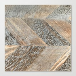 Wood Grain Texture Canvas Print