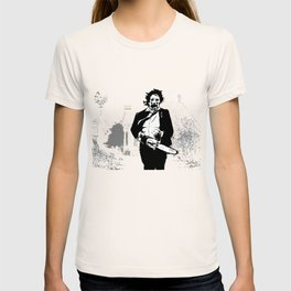 Leatherface protector of the queer T-shirt
