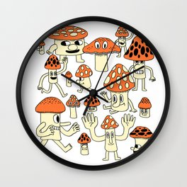 Fun Guys Wall Clock